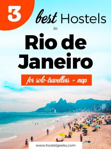 3 Best Hostels in Rio de Janeiro, Brazil - For the unforgettable time at Copacabana