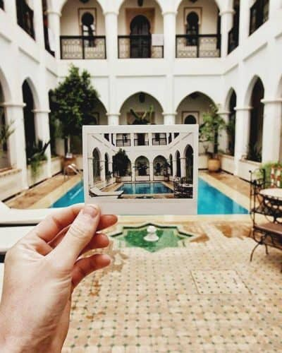 One of the best hostels in Marrakech comes with a pool; Equity Point Hostels