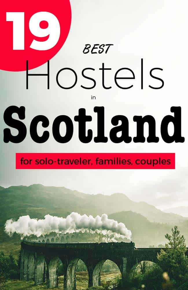 BEST Hostels in Scotland form Edinburgh, Aberdeen, Dundee and around