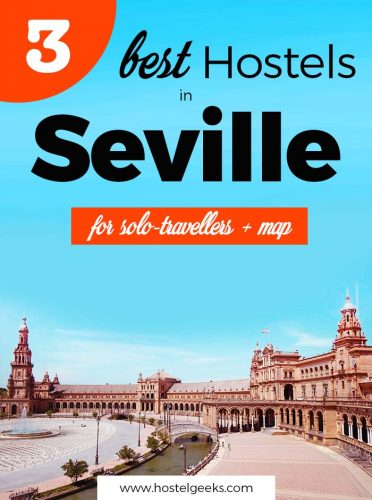 3 Best Hostels in Seville, Spain