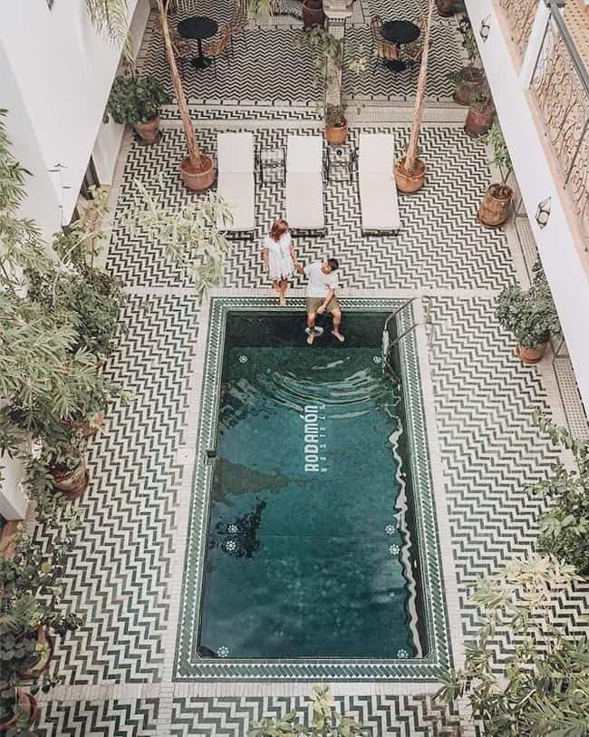 Pure Luxury of Hostels at Rodamon Riad Hostel, one of the best hostels in Marrakech