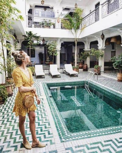 Best Hostels in Marrakech? Rodamon Riad Hostel is epic!