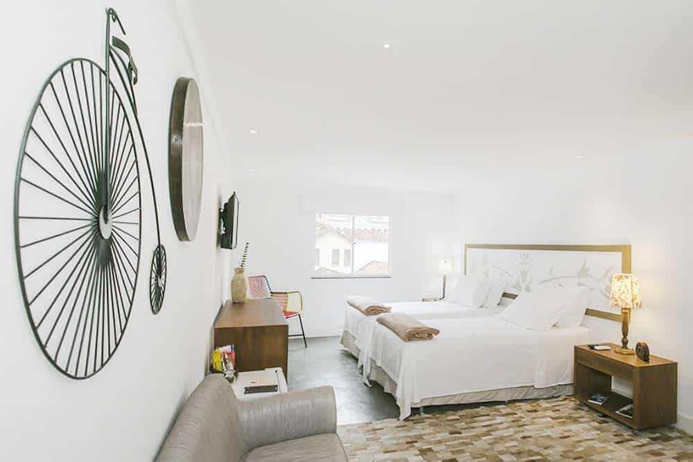private room at Da Lapa design Hostel Rio de Janeiro Brasil