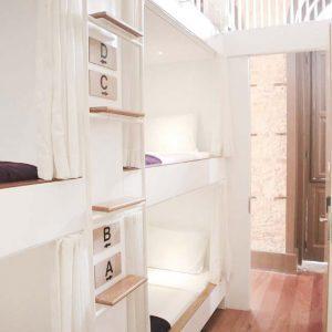 Dorm at Villa 25 hostel Rio de Janeiro