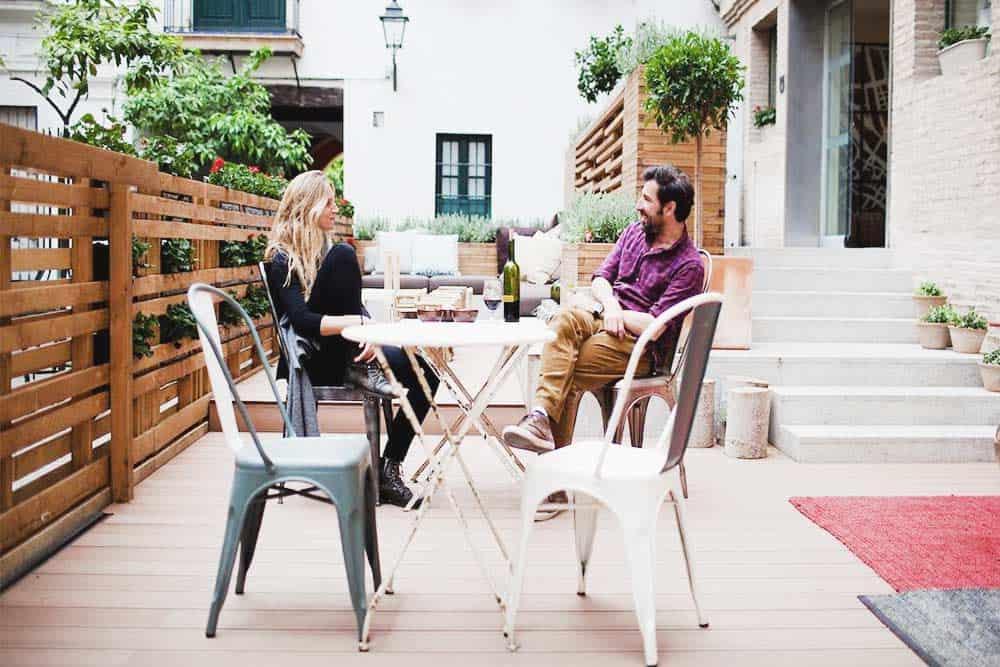 Enjoy the sun at TOC Hostels Seville