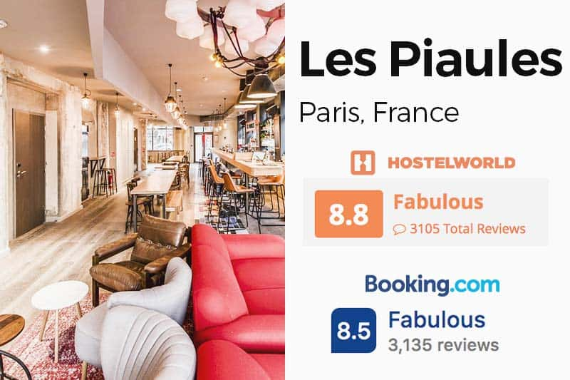 Hostelworld vs Booking.com Rating