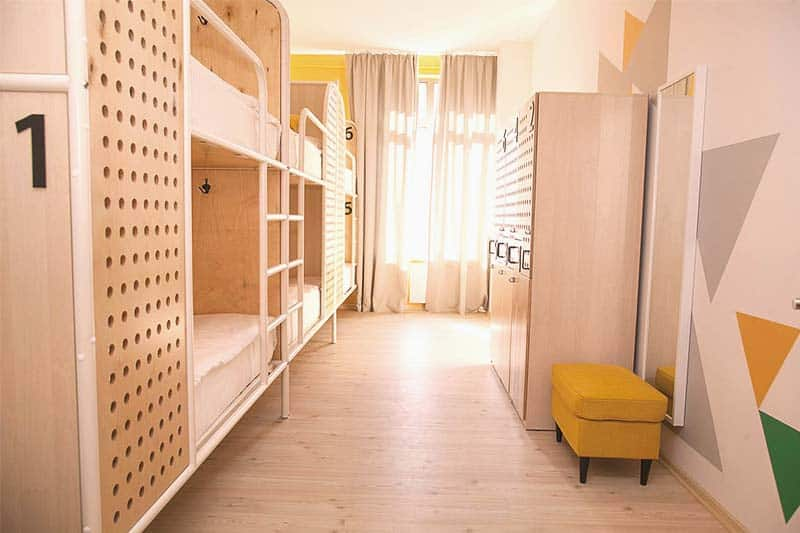 Netizen Hostel in Moscow, one of the coolest places to stay