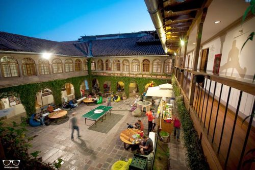 Pariwana Hostel is one of the best hostels in Cusco, Peru