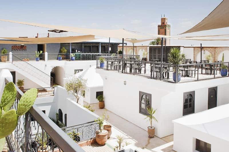 Roof Top Hostel in Marrakech