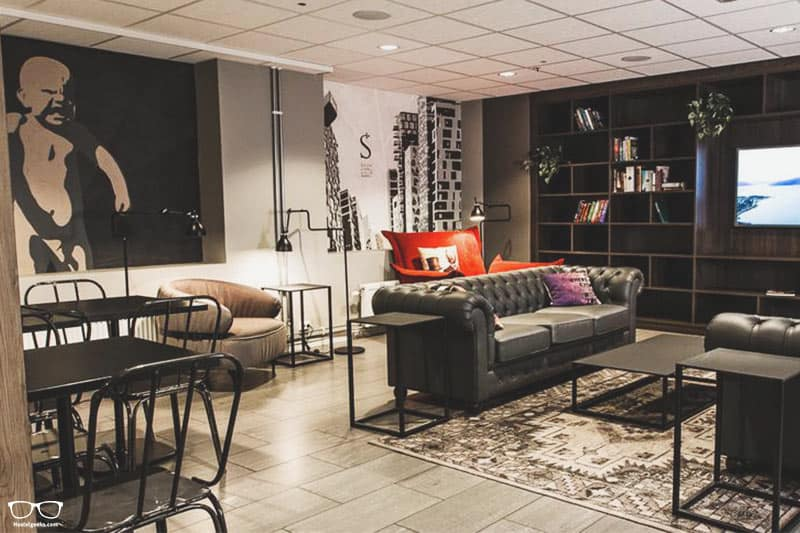 Saga Poshtel Oslo Central is one of the best hostels in Oslo, Norway