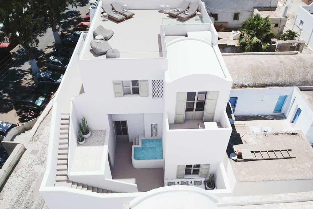 Santorini design hostel Bedspot