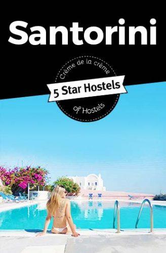 Best Hostels in Santorini