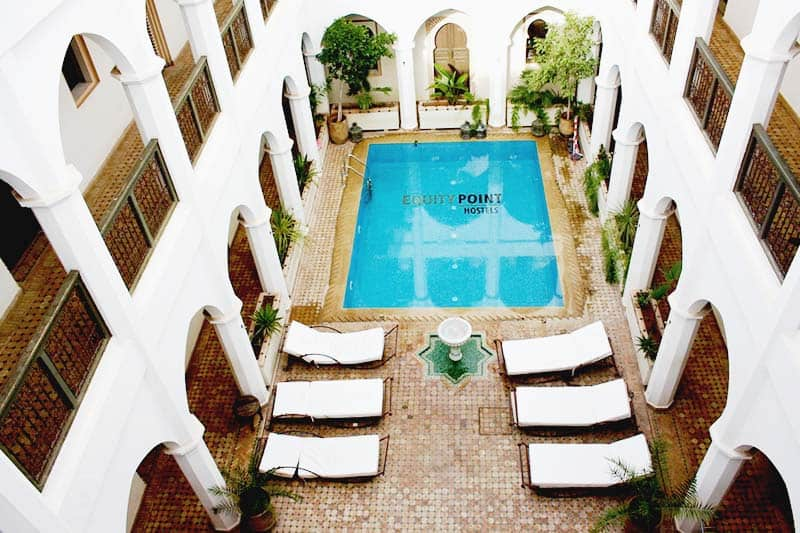 Swimming Pool time at Riad Equity Point