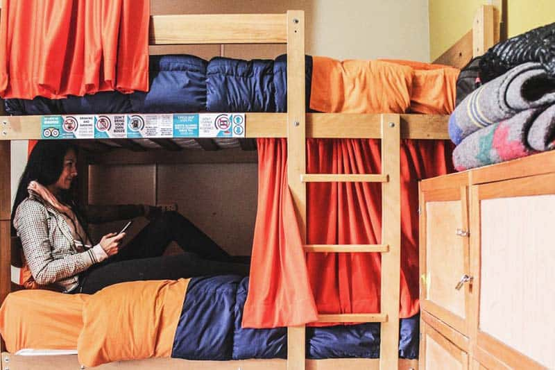 Sleep at very cozy beds at The Point Hostel Cusco