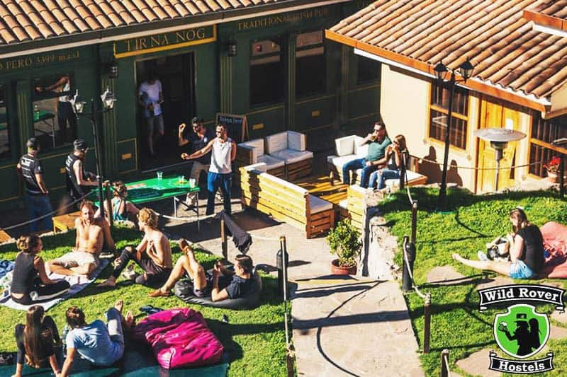 Engage to more outdoor activities at Wild Rover Hostel Cusco