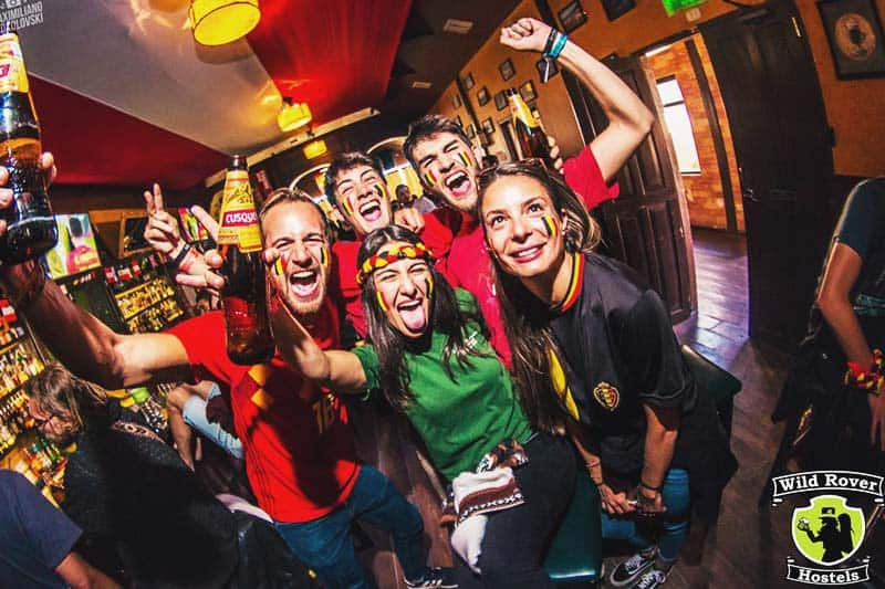 Kill the night and join the party at Wild Rover Hostel Cusco