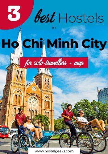 Best Hostels in Oh Chi Mihn City, Vietnam