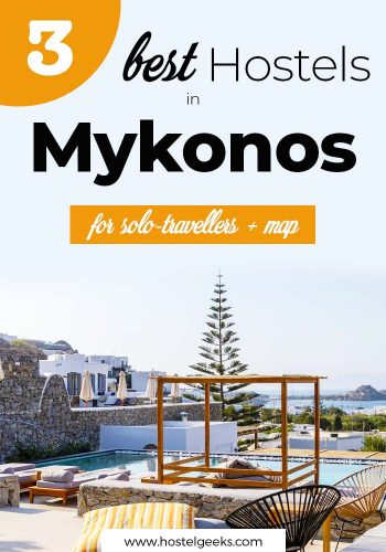 Best Hostels in Mykonos, Greece