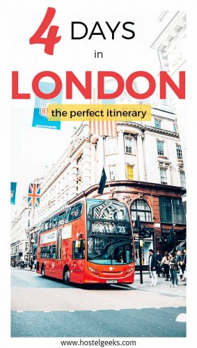 4 days in London - the perefect itinerary