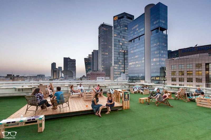 Abraham Hostel is one of the best hostels in Tel Aviv, Israel