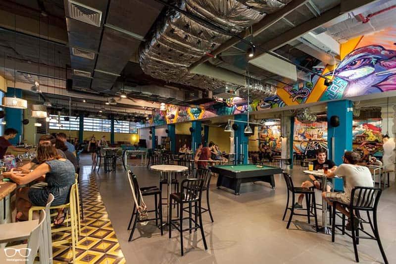 Abraham Hostel is one of the best hostels in Tel Aviv, Israel
