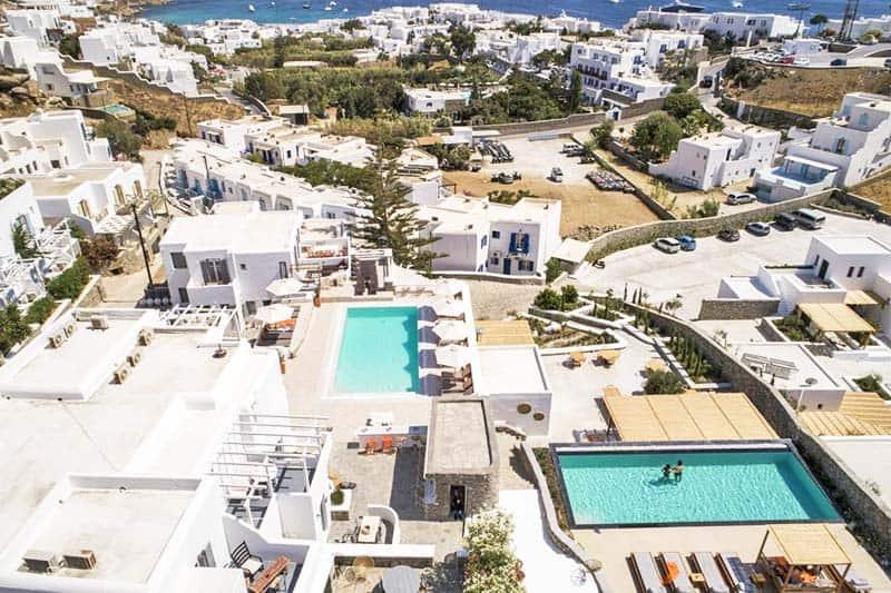 Artemoula's Studios amazing aerial view