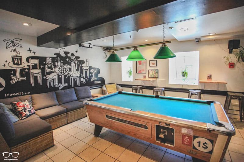 Auberge HI Montreal Hostel is one of the best hostels in Montreal, Canada