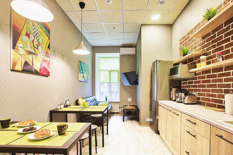 Axel Hostel offers a shared kitchen where you can cook your own