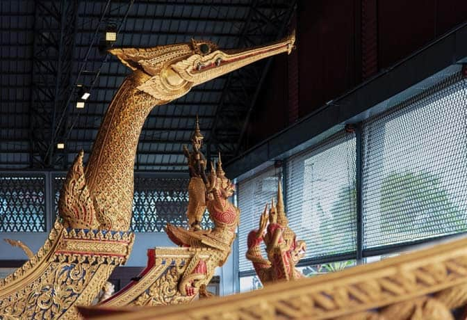 Royal Barge Museum in Bangkok