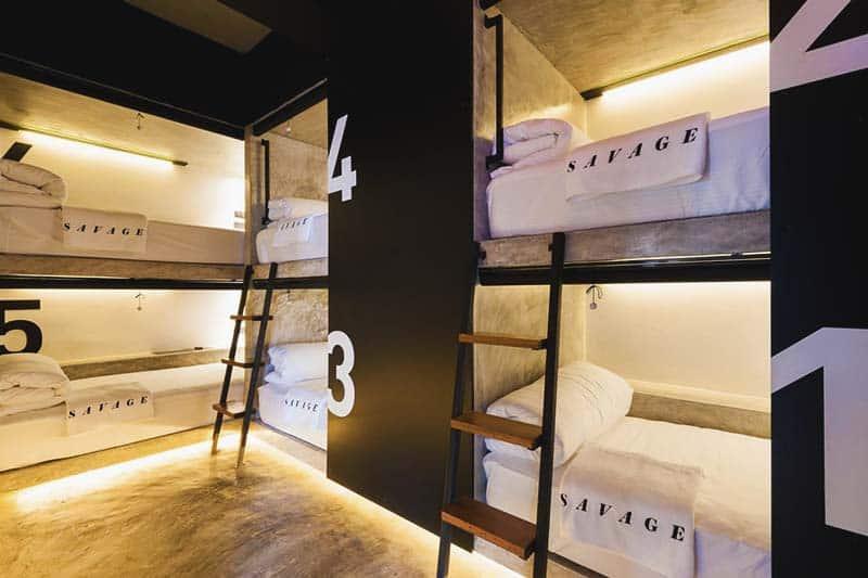 Luxury Dorm at Savage Hostel Koh Tao