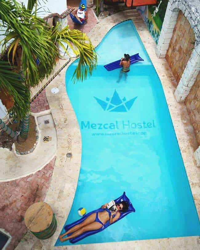 Best Hostels in Cancun come with a Swimming Pool - Accordingly!!