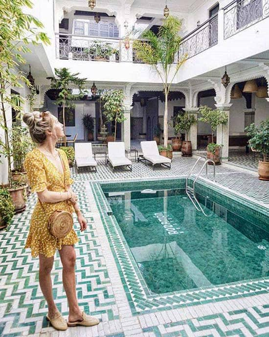 Best Hostels for Female Solo Travellers in Marrakech: Rodamon Riad