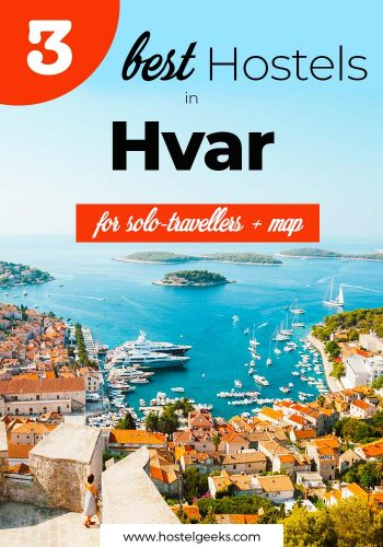 Best Hostels in Hvar, Croatia