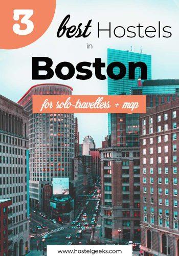 Best Hostels in Boston, Massachusetts
