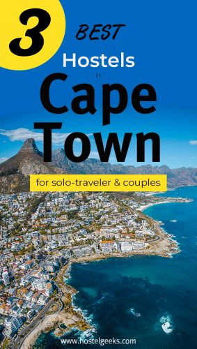 Best Hostels in Cape Town, South Africa - the complete guide and overview for backpackers and solo travellers