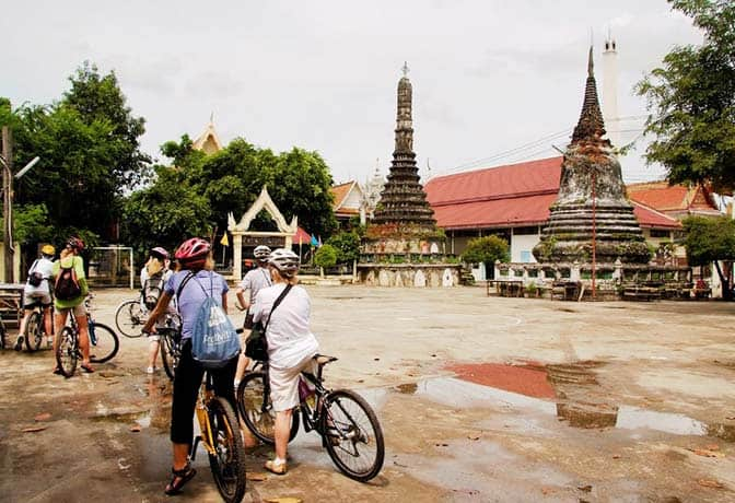 Bike Tour in Bangkok, Thailand