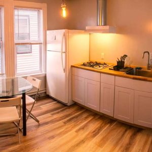 Get free access to the kitchen and make your own meal Boston Homestel during your stay