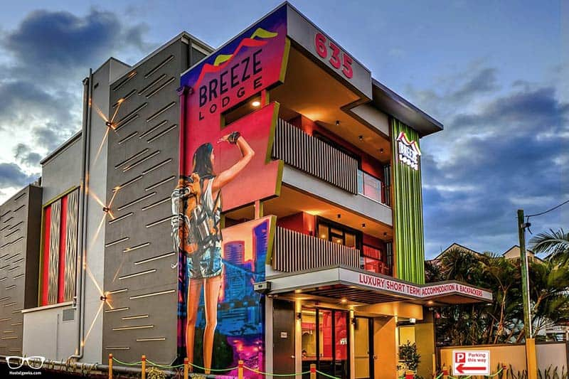 Breeze Lodge is one of the best hostels in Brisbane, Australia