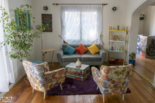 Casa Viva Hostel is one of the best hostels in Santiago, Chile