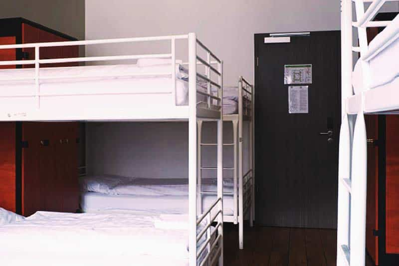 Comfy beds at Cologne Downtown Hostel
