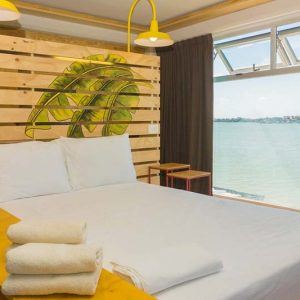 Luxury Hostel in Cancun, The Senor Frogs Hostel has plenty of beautiful Double Rooms with Views
