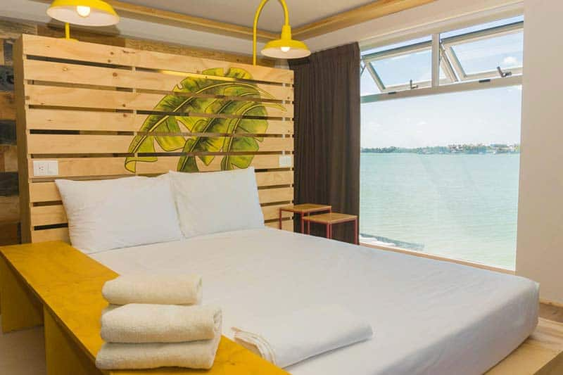Luxury Hostel in Cancun, Mayan Monkey has plenty of beautiful Double Rooms with Views