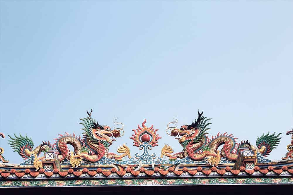 Dragon temple Bangkok