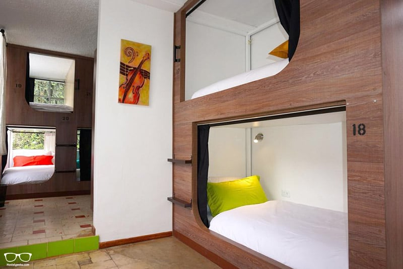 El Hostelito is one of the best hostels in Quito, Ecuador