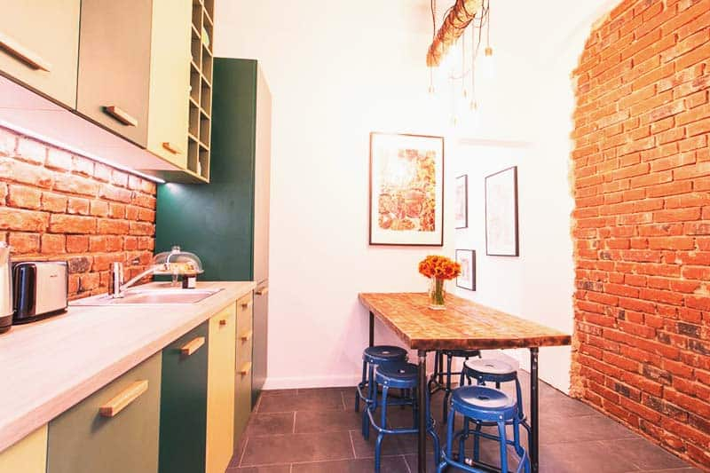 Prepare your own meals at First Hostel Bucharest