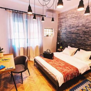 Your own personal room at First Hostel Bucharest