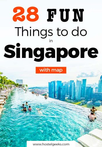 28 Fun Things to do in Singapore - Food, Beach and Street Art