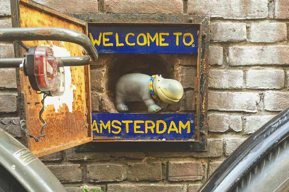 Geocaching in Amsterdam