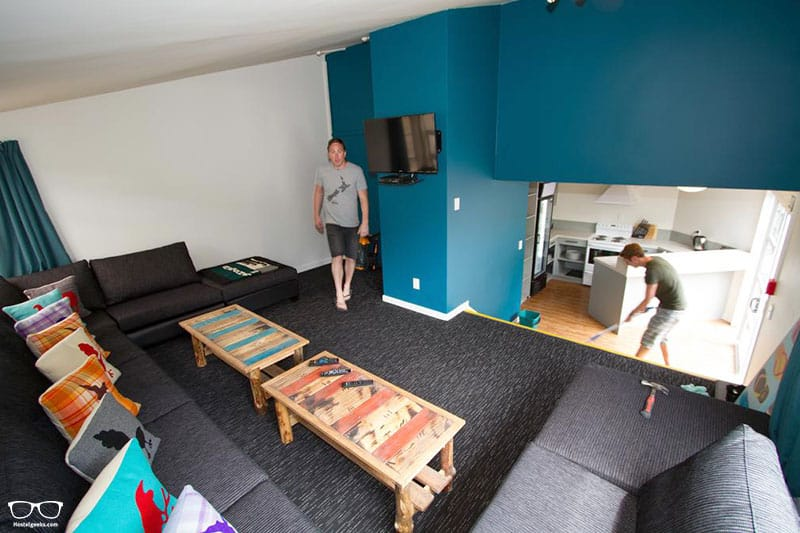 Haka Lodge is one of the best hostels in Queenstown, New Zealand