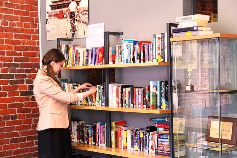 Read your favorite book at HI Boston Hostel library